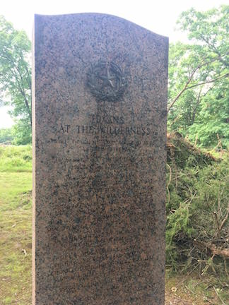 Vandalized Texas Monument cleaned