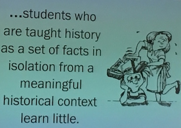 Teaching Just Facts