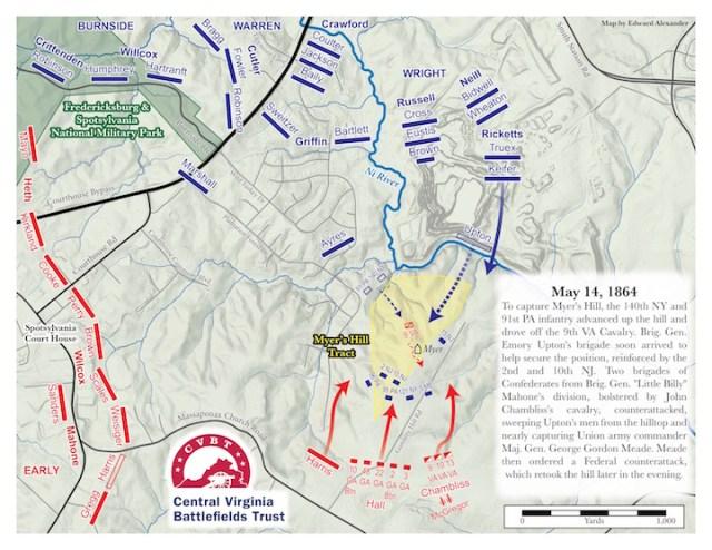Myer's Hill CVBT Map