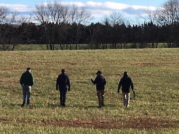 Paynes Farm Four Historians