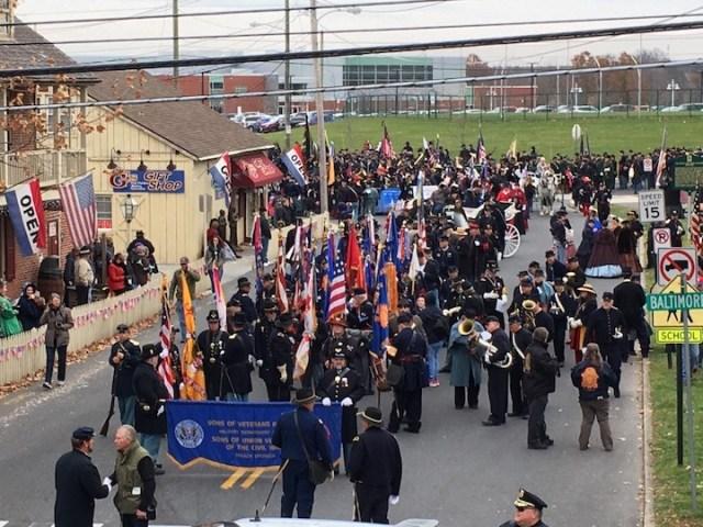 Parade Kickoff Rem Day 2019