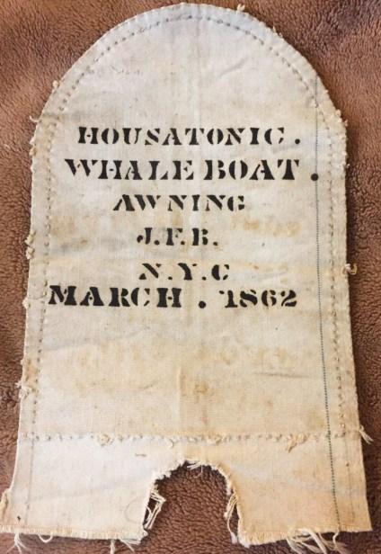 housatonic whaleboat awning