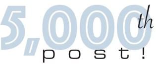 5000th post