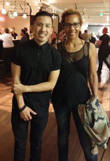 Michael Ngo with Rhonda