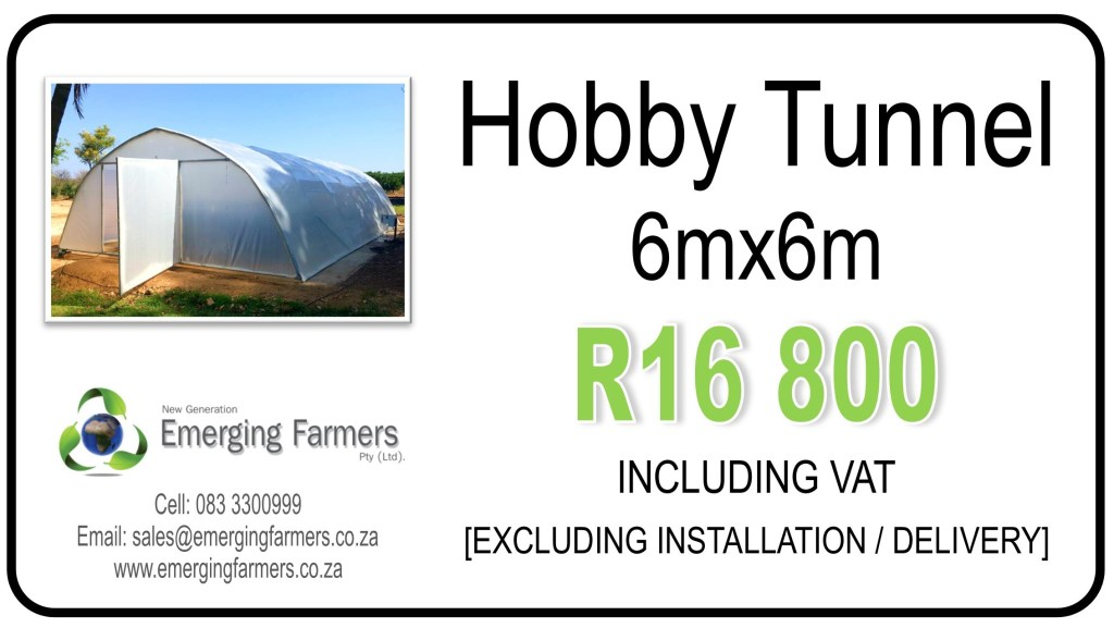 6x6m hobby tunnel