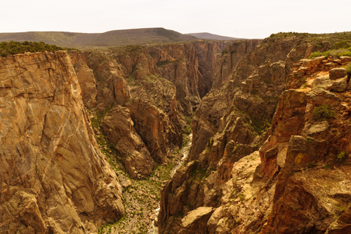 Chasm View at the Black Canyon of the Gunnison National Park