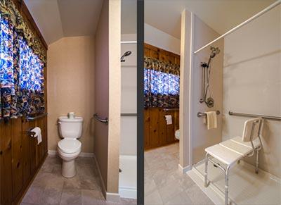 Bathroom in room 365