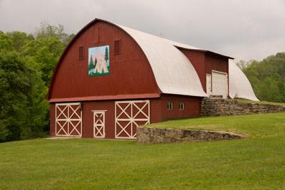 Original Applique quilt barn
