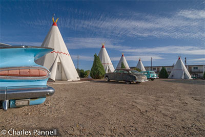 The Wigwam Hotel in Holbrook, Arizona