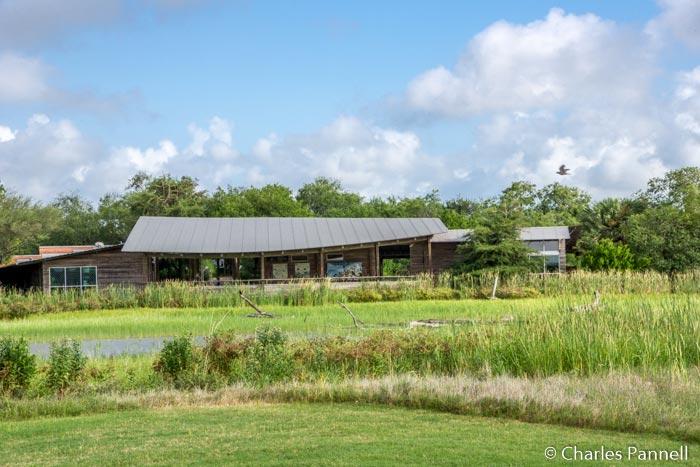 The Visitor Center at Estero Llano Grande State Park
