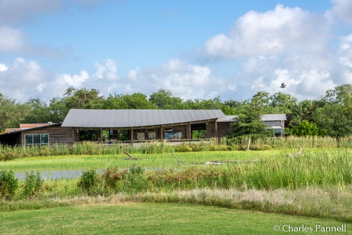The Visitor Center at Estero Llano Grande State Park