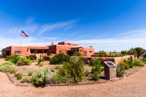 The Painted Desert Inn in Petrified Forest National Park operated as a Harvey House until 1963