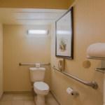 Toilet in room 1251 at the Miramonte Resort