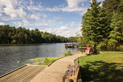 Mirror Lake at Mirror Lake State Park