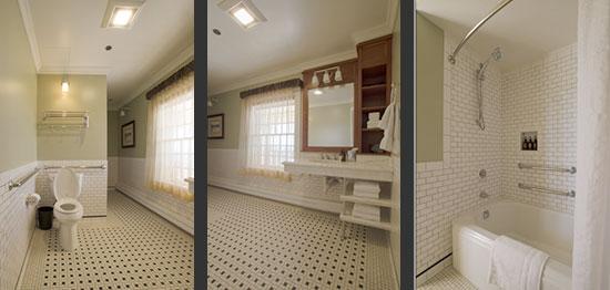 Bathroom in Room 226