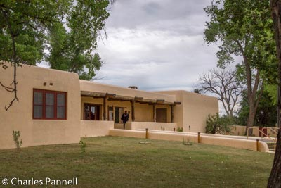 Visitor Center at Aztec Ruins National Monument