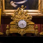 Clock once owned by Marie Antoinette at Houmas House