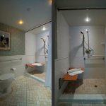 Accessible bathroom in room 4231