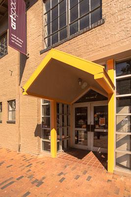Entrance to Artspace