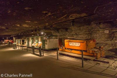 Exhibits in the mine