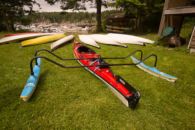 Photo of the kayak