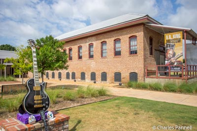The BB King Museum in Indianola, Mississippi