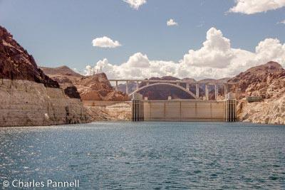 Hoover Dam and the Pat Tillman Memorial Bridge from the Desert Princess