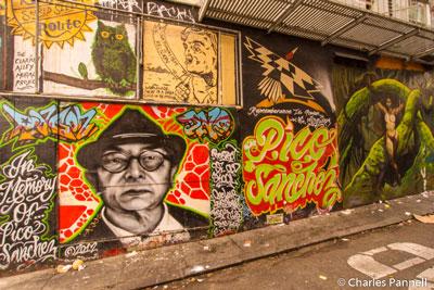Murals in Clarion Alley