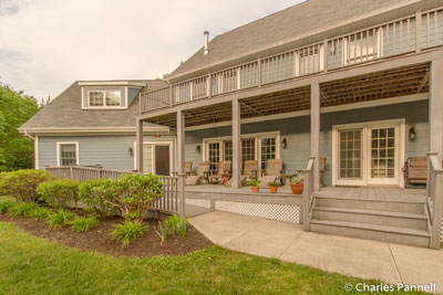 The back deck at The Pearl of Seneca Lake