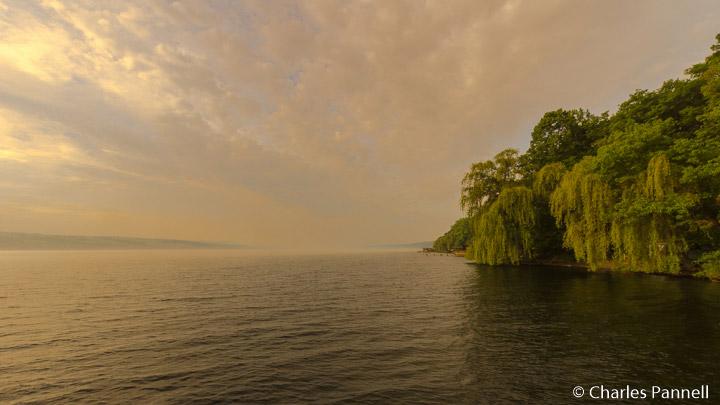 Seneca Lake Viewed from The Pearl of Seneca Lake