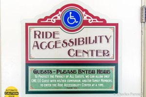 Entrance to the Ride Accessibility Center