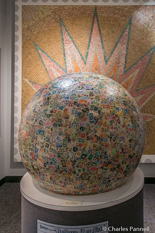 World's Largest Ball of Stamps – Boys Town, NE