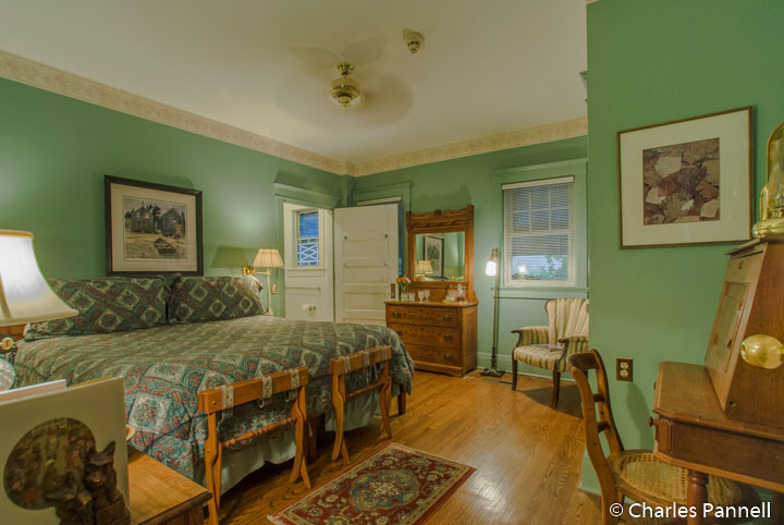 The August Meyer room at Southmoreland on the Plaza