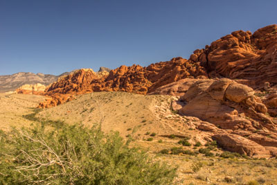 View at the Calico Hills overlook
