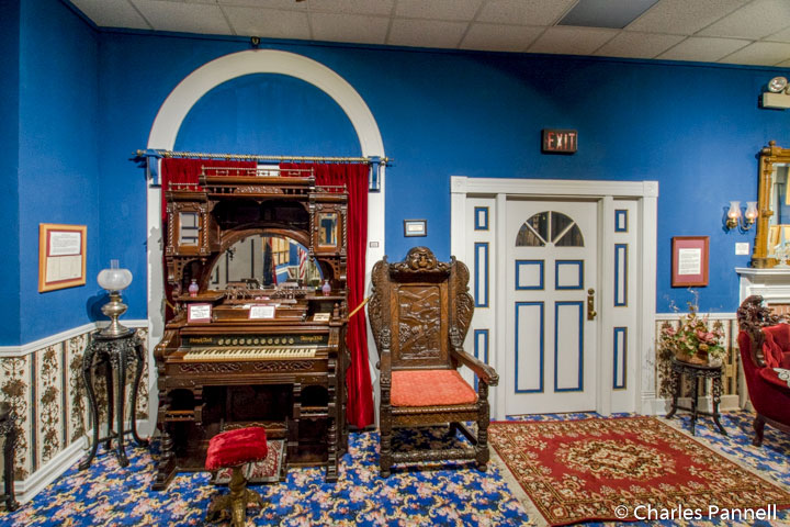 Blue Room in the Patee House Museum