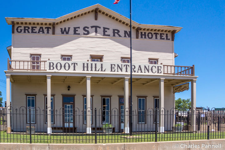 The Great Western Hotel in Boot Hill