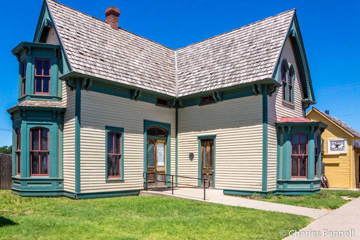 The Superior Schoolhouse in Boot Hill
