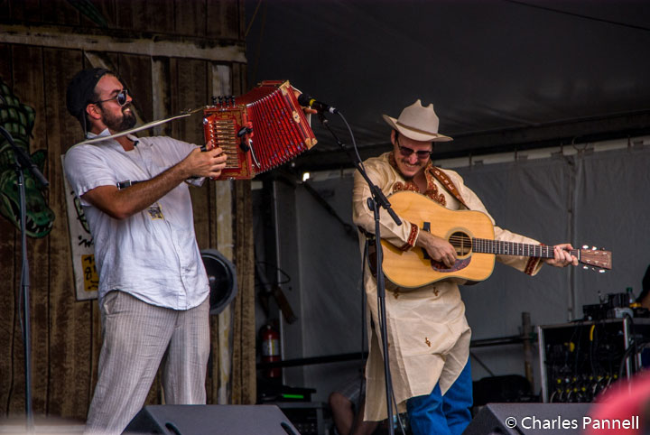 The Pine Leaf Boys entertain at Jazz Fest