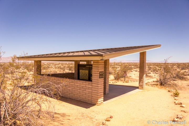 Interpetive center at the Desert Tortoise Natural Area