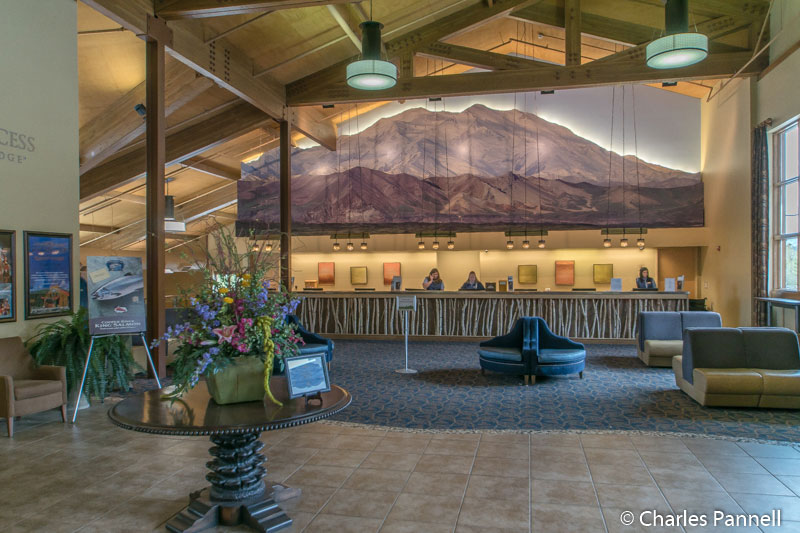 Lobby at the Denali Princess Lodge