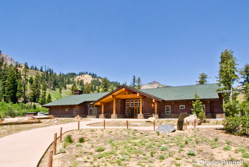 The Kohm Yah-mah-nee Visitors Center in Lassen Volcanic National Park