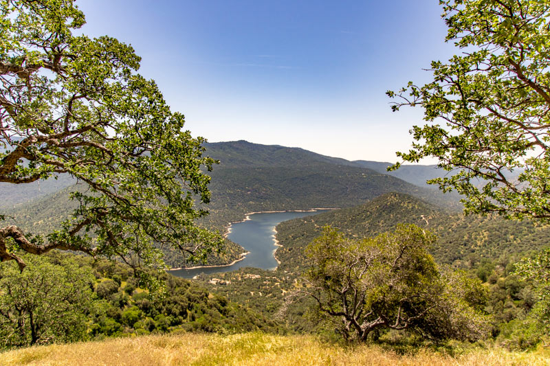 View from the Redinger Overlook on the Sierra Vista Scenic Byway
