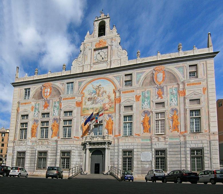 Palazzo San Georgio — in Genoa, Liguria region, northern Italy