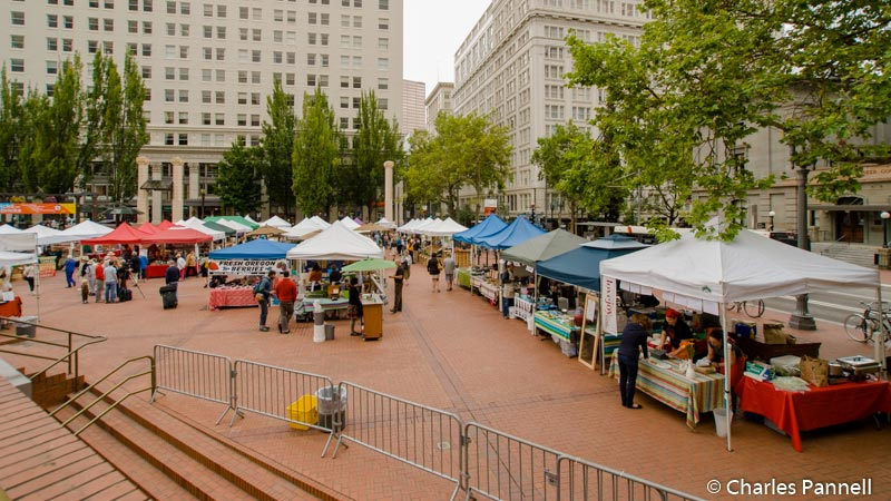 Pioneer Square in Portland, Oregon