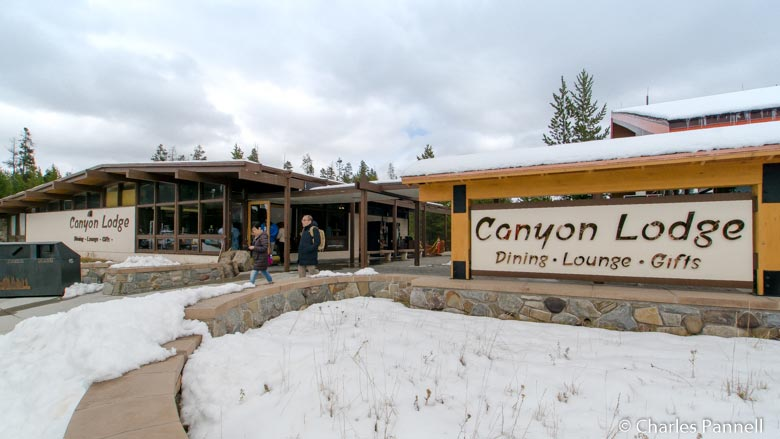 Canyon Village Lodge in Yellowstone National Park