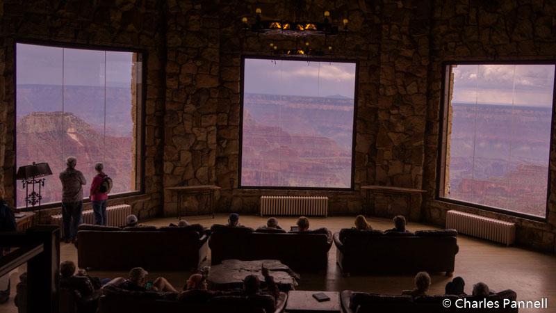 The Sun Room at Grand Canyon Lodge North Rim