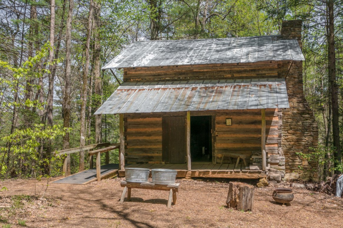 The Savannah House at the Foxfire Museum and Heritage Center