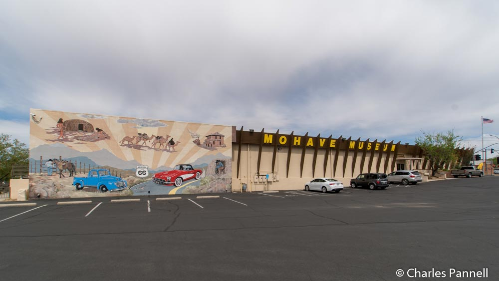 The Mohave Museum on Route 66 in Kingman, Arizona