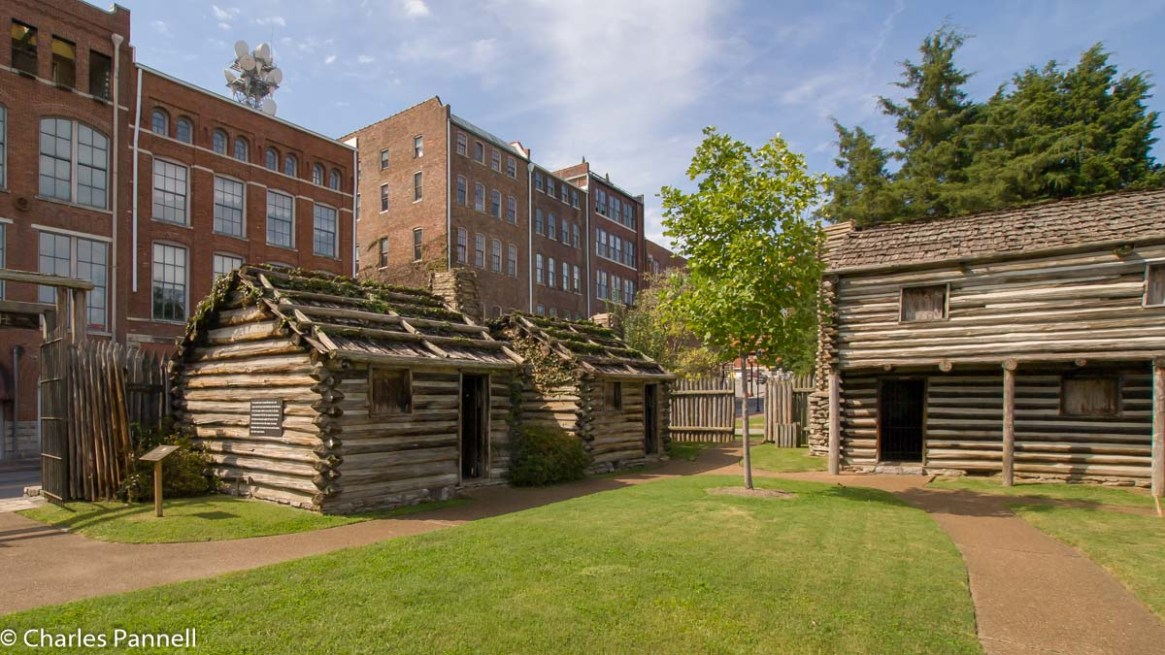 Fort Nashborough in Nashville, Tennessee