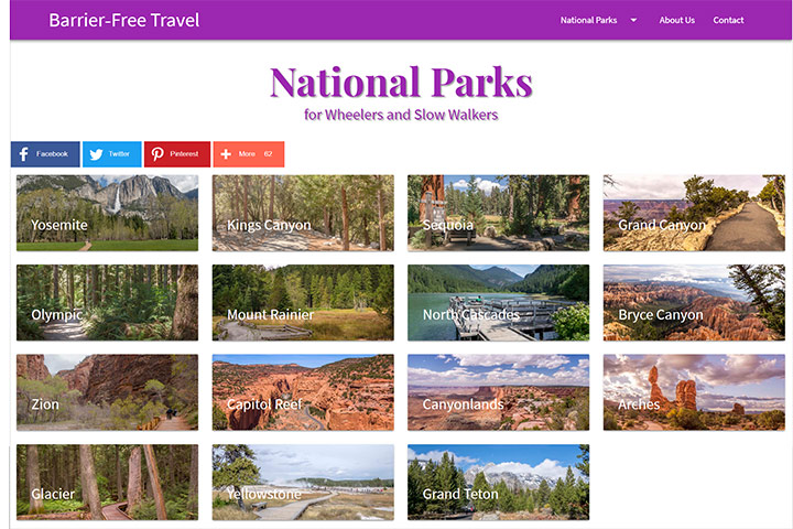 Barrier-Free National Parks